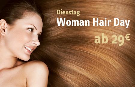 Woman Hair Day
